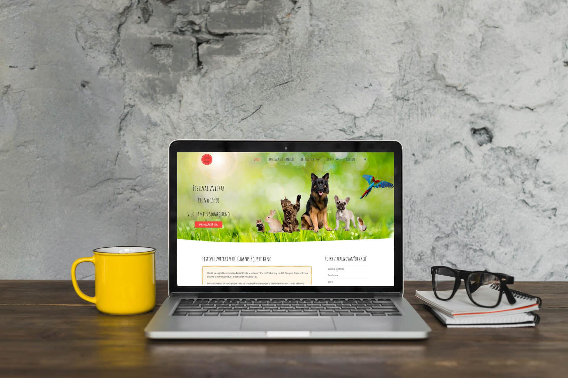 tvorba-web-stranok-ludmila-hoosova-festival-zvierat-1